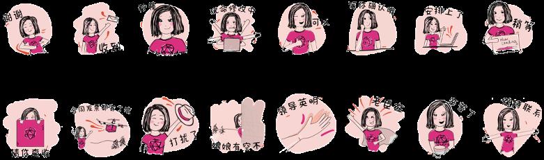 LEWIS WeChat Sticker Pack
